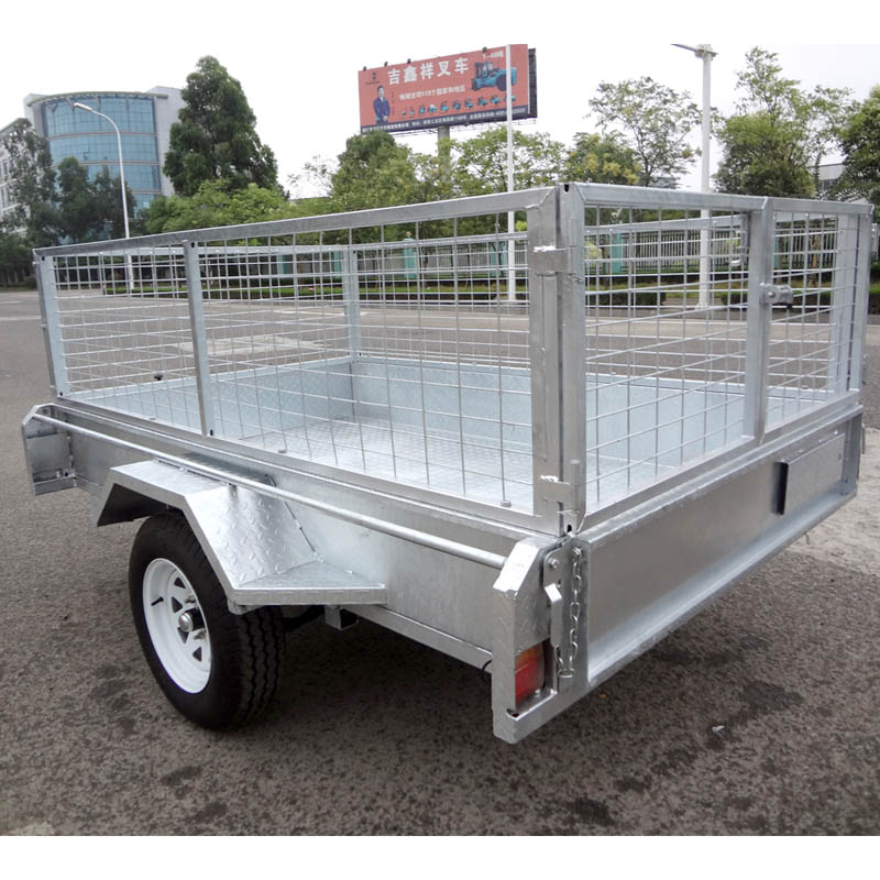 box 7x5 aluminum trailer