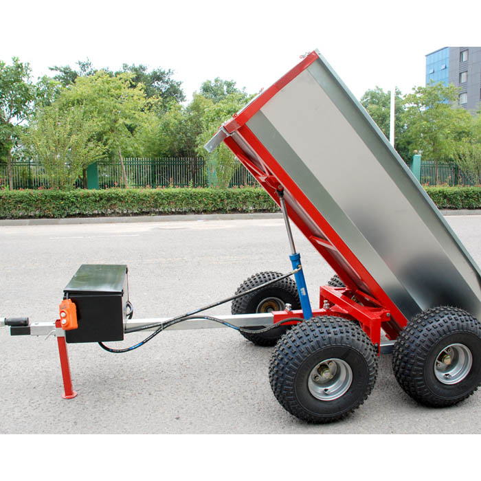 hydraulic pump tipping trailer