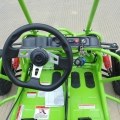 Petrol off road buggy for kids 163cc green