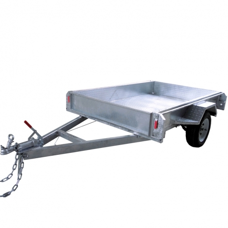 6x4 Box Aluminum Trailer