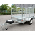 Small Box 7x4 Utility Trailer