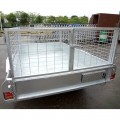 Aluminum Box Trailer 6x4 Sydney With Cage