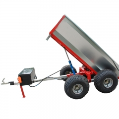 Tipping Hydraulic Pump Trailer