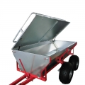 Off Road Trailer For ATV Hunting With Lids