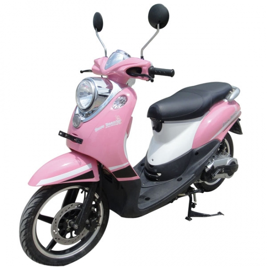 Gas Powered Pink Scooter For Women 125cc Pink