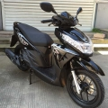 Street Legal Gas Scooter Moped 125cc Black